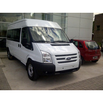 Ford Transit Minibus 13+1 Unica Real Disponible!!