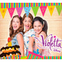 Kit Imprimible Violetta - Editable ***incluye Candy Bar***