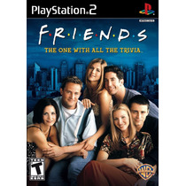 Friends Tv / Juego The One With All The Trivia Ps2