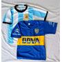 Combo Promo Argentina Boca Conjuntos Camiseta Short Niños