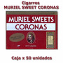 Cigarros Muriel Sweets Caja X 50 Local Centro Ideal P/regalo