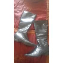Prune Botas Cuero....feria De Zapatos Mira