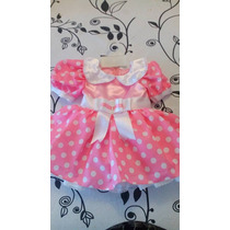 Disfraz Vestido Minnie Rosa