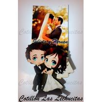 10 Souvenirs Casamiento Original Iman Con Foto! Economico