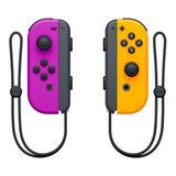 Joystick Nintendo Joy-con Púrpura Neón/naranja Neón