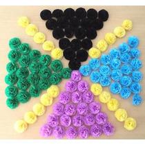Bolsa Con 50 Flores De Papel $ 40