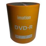 Dvd Imation Estampados 8x 4.7gb 120 Minutos Bulk X100 Unid.