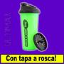 Vaso Batidor Shaker Star Nutrition Antigrumos Proteina Rosca