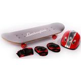 Skate Patineta Lamborghini Set Proteccion Babymovil 7312