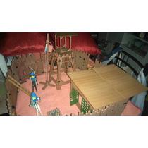 Día Del Niño Playmobil Fuerte 2 Soldados Y Caballos´etc