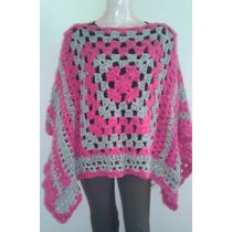 Venta Abrigo Tejido En Mujer Bahía Crochet Lana Poncho Ruana HqAwBx0 5e614966d67
