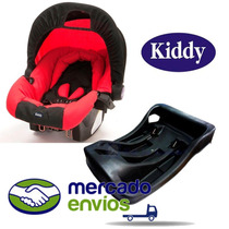 Huevito Bebe Kiddy Para Auto + Base Y Reductor, Baby Ride