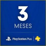 Plus Psn 3 Meses Envio Ya! Todas Juntas! Las 24 Hs. Ps4 Ps3