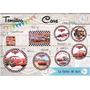 60 Stickers Personalizados Para Golosinas Circ 5cm