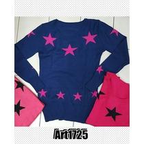Sweaters Hilo Y Lycra Estrellas Ventas X Mayor Y Menor