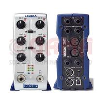 Placa Sonido Externa Lambda Usb 4x2x2 Lexicon 8000127