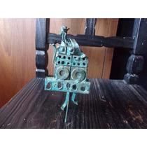 Escultura En Hierro Reciclado De Organillero