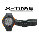 Reloj X-time Monitor Frecuencia Cardíaca C/banda 005 20%off