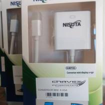 Adaptador Mini Display Port/thunderbolt A Vga Nisuta