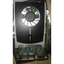 Placa De Video Nvidia Quadro Mod: Nvidia2000 1gb Ddr5