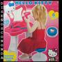 Hello Kitty Tocador De Belleza Electronico Espejo Luz +banco