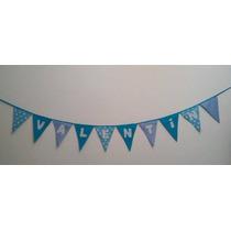 Banderines Tela. Cumpleaños - Bautismos - Comunión - Eventos