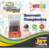 Marcadores Fibras Cortos X 6 Uds Souvenirs/ Kits /no Tóxicos