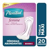 Plenitud Toalla Maxi Femme X 20 Unidades
