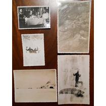 5 Fotografias Antiguas Expedicion Argentina A Orcadas 1938