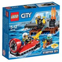 Educando Lego City Bloques Construcción Bomberos Set Inicial