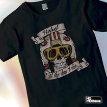 Remera Unisex Estampada Star Wars Calavera Tv Peliculas