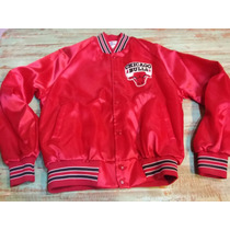Campera Vintage Nba Chicago Bulls Original 1991 Nueva!!!