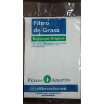 Filtro De Grasa. Repuesto Original Spar.