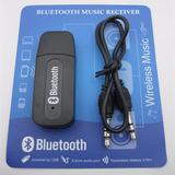 Adaptador Usb A Bluetooth Receptor Y 3,5plug Aux /auto/