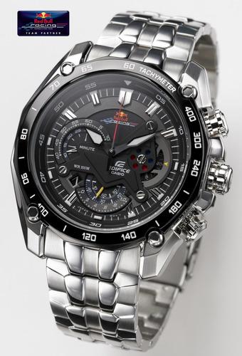 5f57c0aec694 Reloj Casio Edifice Ef-550rbsp Red Bull Vettel - 550 Rbsp
