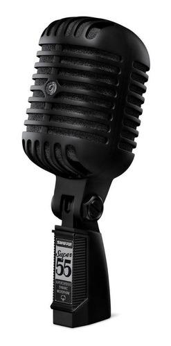 Micrófono Shure Super 55-blk Dinámico Supercardioide Negro