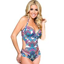 Malla Trikini Taza Soft Con Arco Vedetina Yamiel 2211 Verano