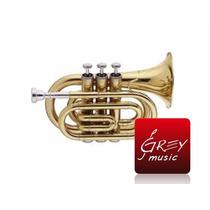Trompeta Bd Pocket Stagg Wstr245s C/estuche