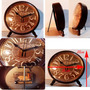 Reloj De Mesa Estilo Vintage Metal Rustico