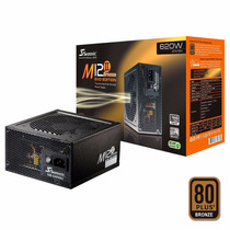 Fuente Pc Seasonic M12ii 620w Real 80 Plus Modular Atx Gamer