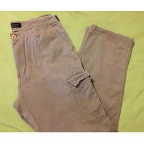 Pantalón De Hombre Bowen Cargo Casual Gabardina