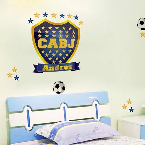 Vinilo Decorativo Equipo Futbol Boca Grafica Plot Grafica En
