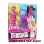 Barbie Diseño De Modas Original Mattel Jugueteria San Jorge