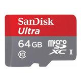 Tarjeta De Memoria Sandisk Sdsqunc-064g-gn6ma Ultra 64gb