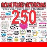 250 Plantilla Frases Vinilo Sublimacion Tazas Remera Frascos