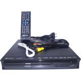 Reproductor Dvd Karaoke Graba Cd A Pendrive Mp3 Mp4 Usb Sd