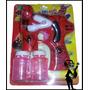 Burbujero Hombre Araña - Spiderman C/luz Y Sonido + 2 Rep!