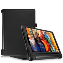 Funda Tablet Lenovo Yoga Tab 3 10 X50f  Tipo Cuero+ Templado