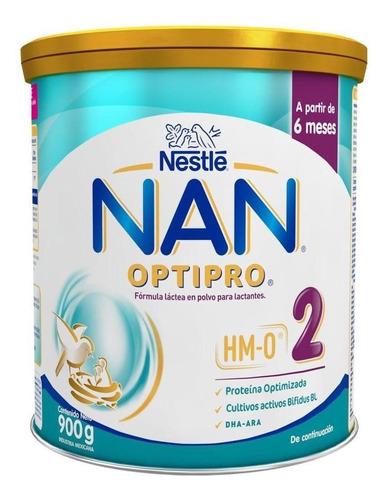 Leche De Fórmula En Polvo Nestlé Nan Optipro 2 En Lata De 900g