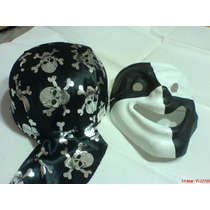 Set De Sombrero -casco-pirata Mas Mascara Hallowen